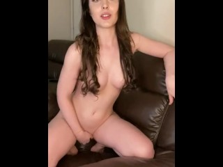 British Babestation Gamer girl gets distracted while playing her game ! She had to make him cum !