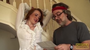Naughty Redhead Fucked By Pascal White