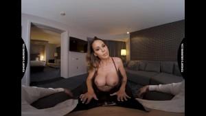Tonight's Girlfriend - McKenzie Lee rides a big cock in the bedroom!