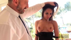 Cutie Anal Fucked After Throat Torment