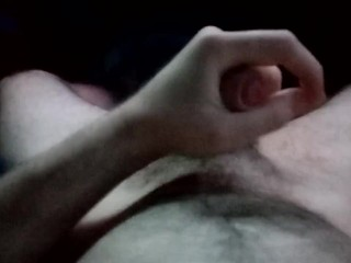 POV w/ cumshot - You have an 8 inch dick
